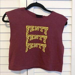 Fenty by Rihanna x PUMA Varsity Crop Top